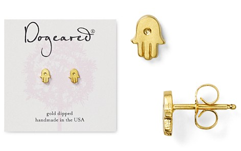 Dogeared Hamsa Stud Earrings - Bloomingdale's_2