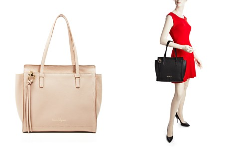 Salvatore Ferragamo Amy Leather Shoulder Bag - Bloomingdale's_2