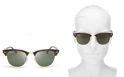 Ray-Ban Unisex Classic Clubmaster Sunglasses, 51mm - Bloomingdale's_2