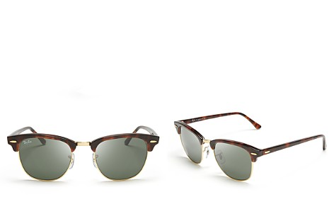 Ray-Ban Unisex Classic Clubmaster Sunglasses, 50mm - Bloomingdale's_2