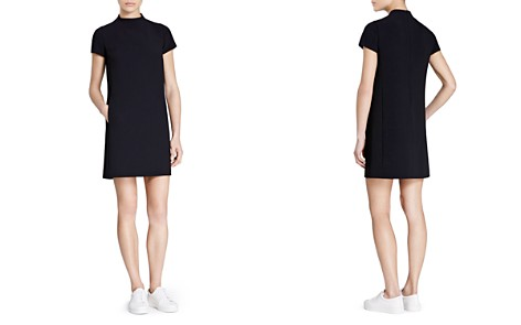 Theory Jasneah Crepe Mini Dress - Bloomingdale's_2