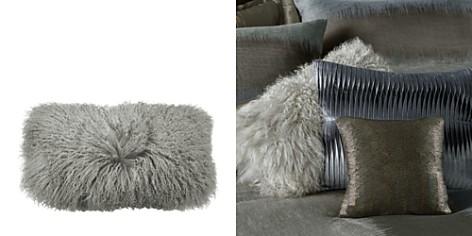 "Donna Karan Flokati Fur Decorative Pillow, 11"" x 22"" - Bloomingdale's_2"