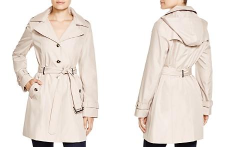Calvin Klein Hooded Trench Coat - Bloomingdale's_2