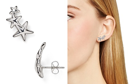 Sterling Silver Star Ear Climbers - 100% Exclusive - Bloomingdale's_2