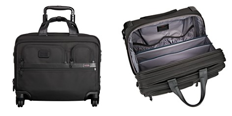 Tumi Alpha 2 Deluxe 4-Wheel Brief with Laptop Case - Bloomingdale's_2