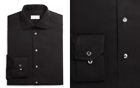 Eton of Sweden Signature Twill Solid Slim Fit Dress Shirt - Bloomingdale's_2