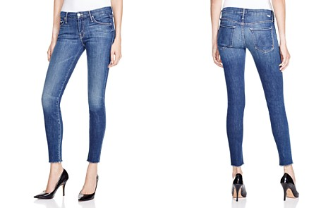 MOTHER The Looker Ankle Fray Skinny Jeans in Girl Crush - Bloomingdale's_2