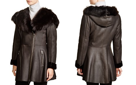 Maximilian Shearling Coat with Toscana Shearling-Trimmed Hood - Bloomingdale's_2