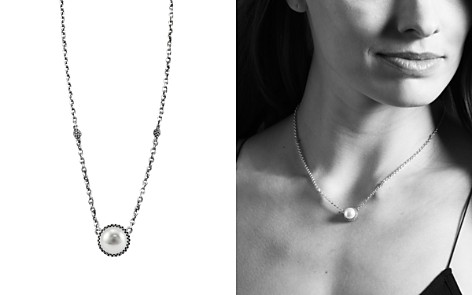 "LAGOS Luna Sterling Silver & Cultured Freshwater Pearl Pendant Necklace, 16"" - Bloomingdale's_2"