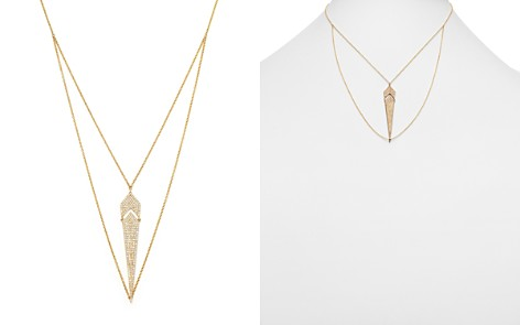 Diamond Pendant Necklace in 14K Yellow Gold, .50 ct. t.w. - 100% Exclusive - Bloomingdale's_2