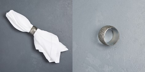 Excell Metal Mosaic Napkin Ring - Bloomingdale's_2
