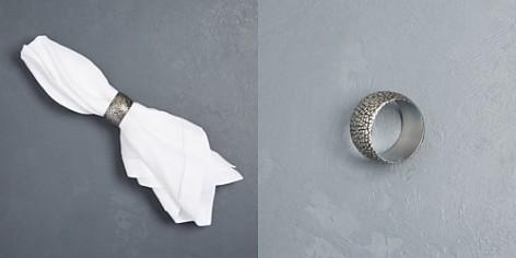Excell Metal Mosaic Napkin Ring - Bloomingdale's Registry_2