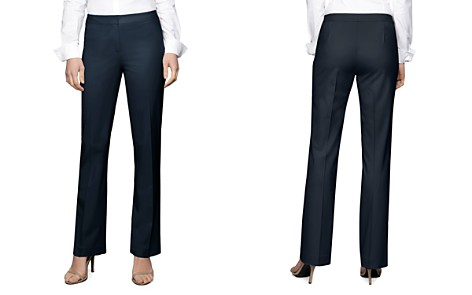 Lafayette 148 New York Straight-Leg Pants - Bloomingdale's_2