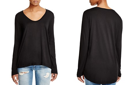 Splendid Scoop Neck Tee - Bloomingdale's_2