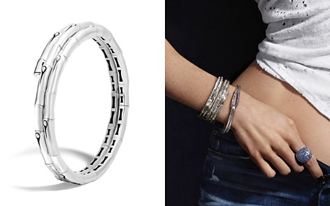 John Hardy Bamboo Sterling Silver Small Double Coil Bracelet - Bloomingdale's_2