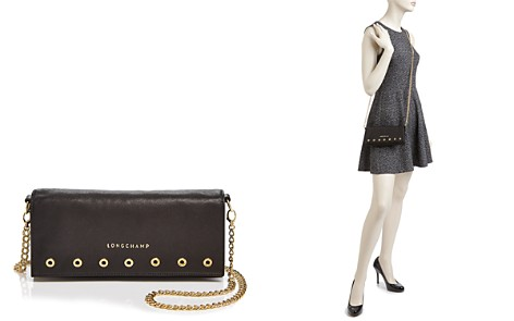 Longchamp Paris Rocks Leather Chain Wallet - Bloomingdale's_2