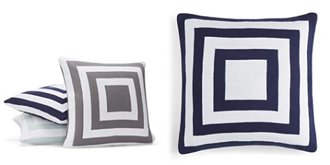 "Hudson Park Geo Knit Decorative Pillow, 20"" x 20"" - 100% Exclusive - Bloomingdale's_2"