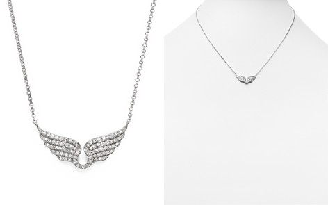 Diamond Wing Necklace in 14K White Gold, .30 ct. t.w. - Bloomingdale's_2