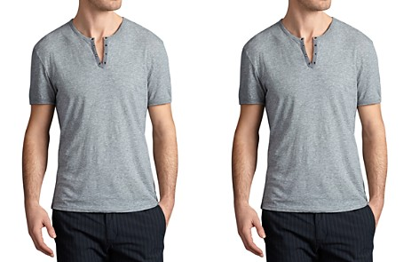 John Varvatos Star USA Grommet V-Neck Tee - Bloomingdale's_2