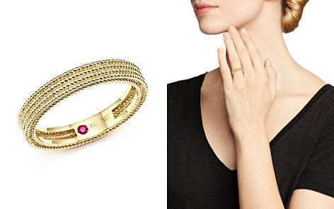 Roberto Coin 18K Yellow Gold Symphony Braided Ring - Bloomingdale's_2