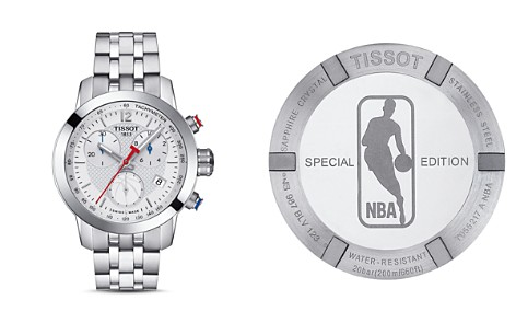 Tissot NBA PRC 200 Stainless Steel Chronograph, 34mm - Bloomingdale's_2