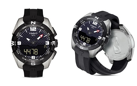 Tissot NBA T-Touch Expert Solar Watch, 45mm - Bloomingdale's_2