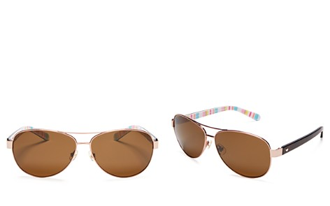 kate spade new york Polarized Dalia Sunglasses, 58mm - Bloomingdale's_2