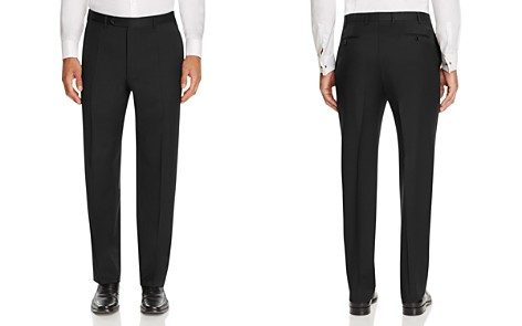 Canali Siena Classic Fit Wool Dress Pants - Bloomingdale's_2