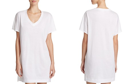 Hanro Laura Oversized Sleep Tee - Bloomingdale's_2