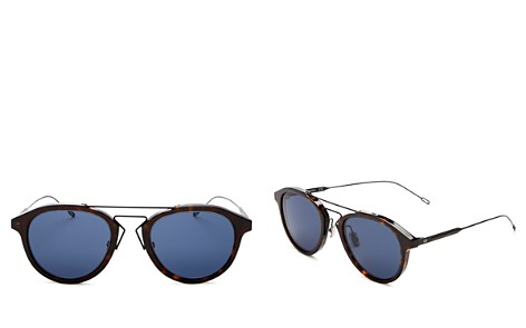 Dior Men's Mixed Media Round Sunglasses, 51mm - Bloomingdale's_2