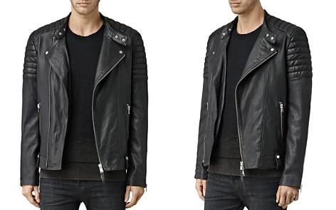 ALLSAINTS Jasper Leather Slim Fit Biker Jacket - Bloomingdale's_2