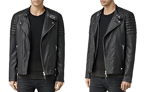 ALLSAINTS Jasper Leather Slim Fit Biker Jacket - Bloomingdale's_2