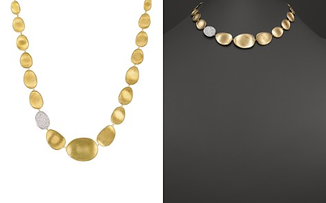 """Marco Bicego Diamond Lunaria Collar Necklace in 18K Gold, 16.5"""" - Bloomingdale's_2"""