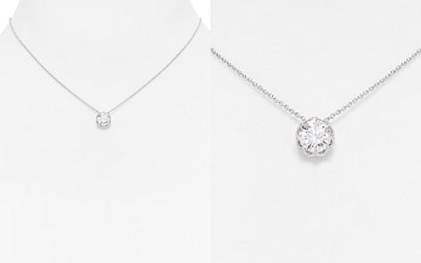 Nadri initial necklace bloomingdales nadri pendant necklace 16 bloomingdales2 aloadofball Choice Image