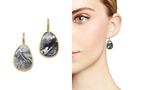 Marco Bicego 18K Yellow Gold Lunaria Black Mother-Of-Pearl Drop Earrings - Bloomingdale's_2