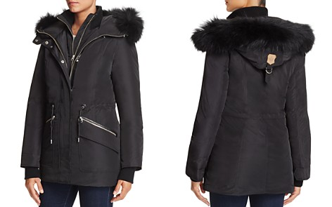 Mackage Katryn Fur Trim Hooded Short Down Coat - Bloomingdale's_2