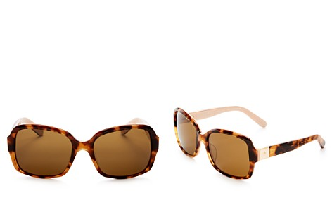 kate spade new york Annora Polarized Rectangle Sunglasses, 54mm - Bloomingdale's_2
