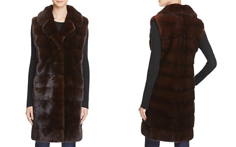 Maximilian Furs Mink Fur Long Vest - 100% Exclusive - Bloomingdale's_2
