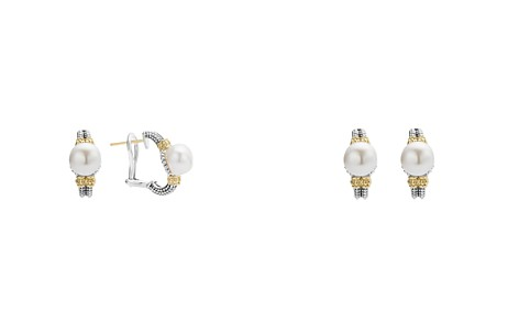 LAGOS 18K Gold and Sterling Silver Luna Earrings with Cultured Freshwater Pearls - Bloomingdale's_2