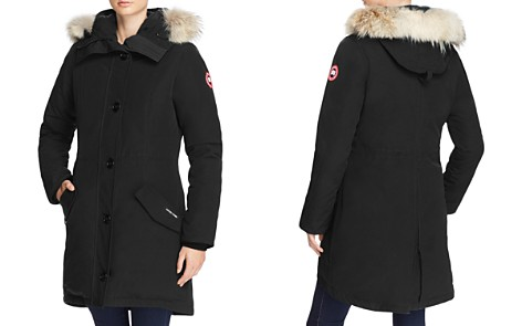 Canada Goose Rossclair Fur Trim Down Parka - Bloomingdale's_2