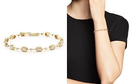 Diamond Geometric Bracelet in 14K Yellow Gold, .33 ct. t.w. - 100% Exclusive - Bloomingdale's_2