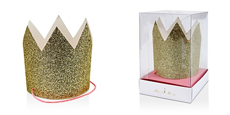 Meri Meri Mini Gold Glittered Crowns - Bloomingdale's_2