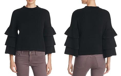 Endless Rose Tiered Ruffle Sleeve Sweater - Bloomingdale's_2