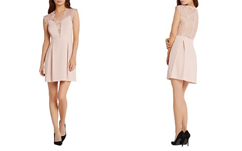 BCBGeneration Lace Detail Dress - Bloomingdale's_2