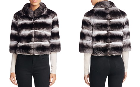 Maximilian Furs Anna Chinchilla Cropped Jacket - Bloomingdale's_2