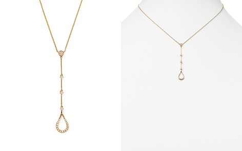 KC Designs Diamond Teardrop Y Necklace in 14K Yellow Gold, .15 ct. t.w. - Bloomingdale's_2