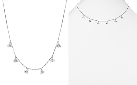 KC Designs Diamond Dangle Station Necklace in 14K White Gold, .60 ct. t.w. - Bloomingdale's_2