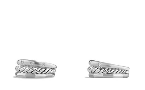 David Yurman Stax Narrow Ring with Diamonds - Bloomingdale's_2