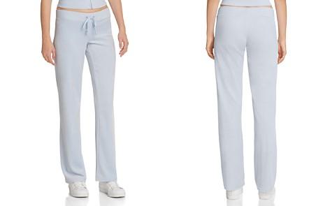 Juicy Couture Black Label Original Flare Velour Pants - Bloomingdale's_2
