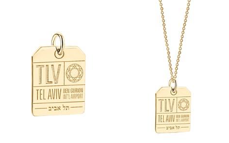 Jet Set Candy TLV Tel Aviv Luggage Tag Charm - Bloomingdale's_2